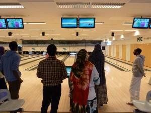 Dags för bowling